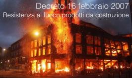 Decreto 16 febbraio 2007