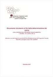 Documento istruttorio ai fini della determinazione dei LEPTA