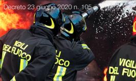 Decreto 23 giugno 2020 n. 105