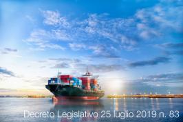 Decreto Legislativo 25 luglio 2019 n. 83