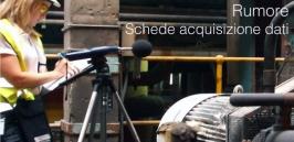 Rumore: Schede acquisizione dati