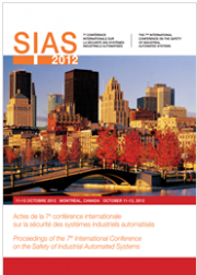 SIAS 2102: 7th International Conference Safety Industrial Automated Systems