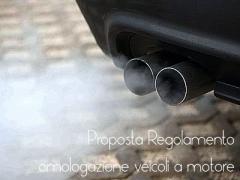 Proposta Regolamento omologazione veicoli a motore