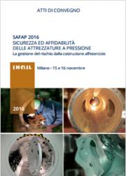 SAPAF 2016: Sicurezza ed affidabilità delle attrezzature a pressione