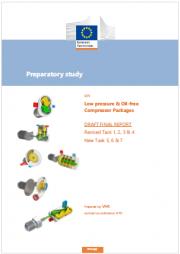 Studio preparatorio: compressori a bassa pressione e senza olio
