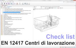 Check list EN 12417:2009 Centri di lavorazione