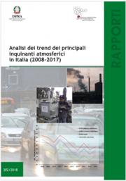 Analisi dei trend dei principali inquinanti atmosferici In Italia (2008-2017)