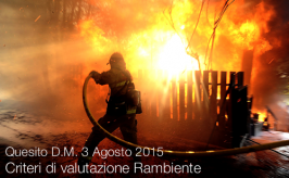 Quesito D.M. 3 Agosto 2015   Criteri di valutazione Rambiente