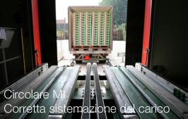 Circolare MI Corretta sistemazione del carico sui veicoli commerciali
