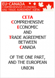 CETA: COMPREHENSIVE ECONOMIC AND TRADE AGREEMENT