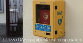 Utilizzo DAE in ambiente extraospedaliero