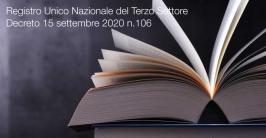 DM 15 settembre 2020 n.106