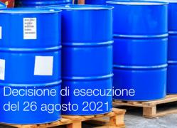 Decisione di esecuzione della Commissione del 26 agosto 2021