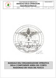 Manuale delle Operazioni della Componente aerea VVF