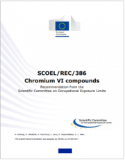 Chromium VI compounds - Recommendation SCOEL