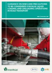 Guidance on risks and precautions to be considered for bulk liquid loading and unloading operations in road transport
