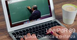 UNI/PdR 89: Linee guida didattica a distanza e mista scuole di ogni ordine e grado