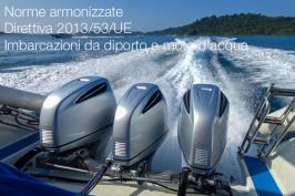 Norme armonizzate Direttiva 2013/53/UE Imbarcazioni da diporto e moto d'acqua