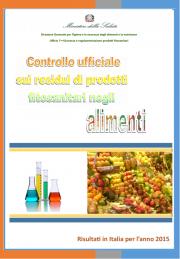 Controllo ufficiale sui residui di prodotti fitosanitari negli alimenti