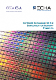 Exposure scenarios semiconductor industry examples