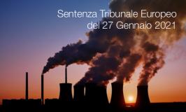 Sentenza Tribunale Europeo del 27 Gennaio 2021