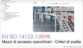 EN ISO 14122-1:2016 cosa cambia rispetto Ed. 2010