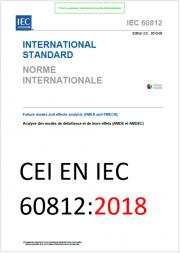 CEI EN IEC 60812:2018