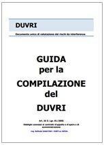 Guida per la compilazione del DUVRI