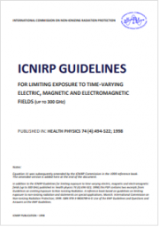 Guidelines Exposure to Time-Varying Electric, Magnetic, and Electromagnetic Fields (Up to 300 GHz)