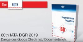 Dangerous Goods Check list / Documentation 60th IATA DGR 2019