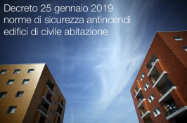 D.M. 25 gennaio 2019 | Norme sicurezza antincendi edifici di civile abitazione