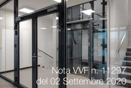 Nota VVF n. 11297 del 02 Settembre 2020