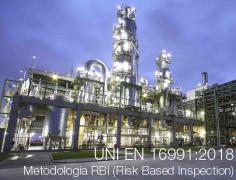 UNI EN 16991:2018 Metodologia RBI (Risk Based Inspection)