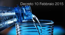 Decreto 10 febbraio 2015
