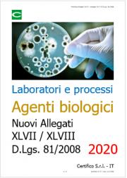 Agenti biologici: modifica Allegati XLVII e XLVIII D.Lgs. 81/2008