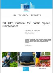 EU GPP criteria for public spaces maintenance