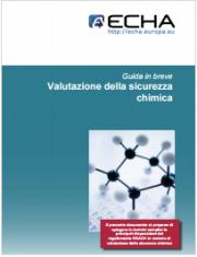 Guida Valutazione della sicurezza chimica - ECHA