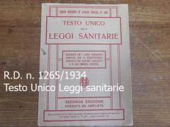 Regio Decreto 27 luglio 1934 n. 1265