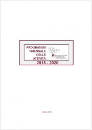 Programma Triennale Attivita' (PTA) SNPA 2018-2020