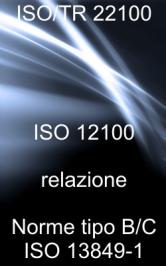 ISO/TR 22100: Relazioni tra ISO 12100 e le norme tipo B, C ed ISO 13849-1