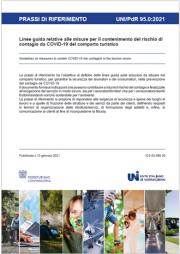 UNI/PdR 95.0:2021 | COVID-19 Linee guida comparto turistico