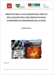 L'impatto ambientale delle acciaierie sulla qualitá dell'aria