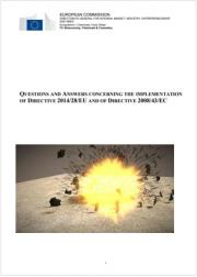 Questions & Answers Direttiva 2014/28/UE - Direttiva 2008/43/CE