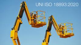 UNI ISO 18893:2020 | Piattaforme di lavoro mobili elevabili