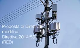 Proposta di Direttiva di modifica della Direttiva 2014/53/UE (RED)