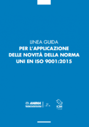 ISO 9001:2015 Linea Guida ANIMA-ICIM