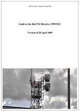 Guide to the R&TTE Directive 1999/5/EC