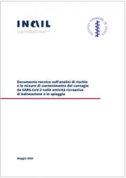 Documento tecnico analisi di rischio misure di contenimento SARS-CoV-2 attività balneazione