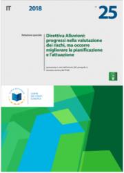 Relazione speciale UE n. 25/2018 | Direttiva Alluvioni