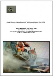 """Documento di linee guida per la valutazione dell'esposizione professionale a """"silice libera cristallina"""""""